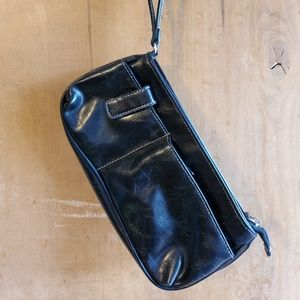 Handbags - Black wristlet wallet!